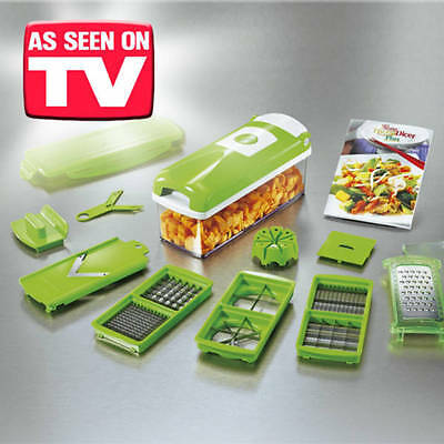 Nicer Dicer Plus Genius - As Seen On TV, One Step Precision Cutting