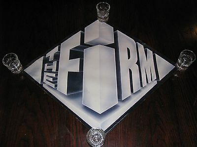 "Jimmy Page The Firm 1985 Original Promotional Poster 24"" x 20.5"""