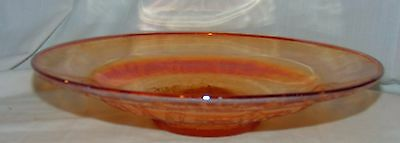 """Federal MADRID IRIDESCENT* 11"""" LOW CONSOLE BOWL*"""