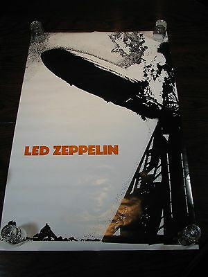 "Led Zeppelin I Album Poster – New Condition - 35""x23"""