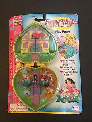 Prime Time Snow White & the Seven Dwarfs My Little Fairy Tales Play Purse New