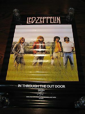 "Led Zeppelin - In Through The Out Door – Promotional Poster 28.5""x20"""