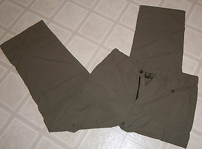 Boy Scouts Of America Official Womens Switchback Pants Sz Med Converts To Shorts