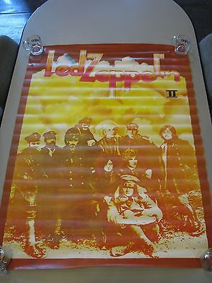 "Giant Jumbo Size Poster of Led Zeppelin II Album Cover - 54"" x 40"""