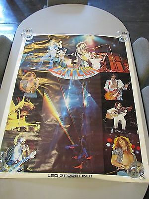 "Giant Jumbo Size Collage Poster of Led Zeppelin – ""Led Zeppelin II"" - 58""x42"""