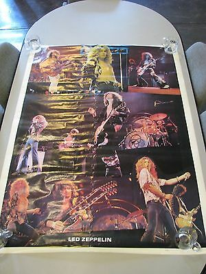 "Giant Jumbo Size Collage Poster of Led Zeppelin – ""Led Zeppelin"" - 58""x42"" New"