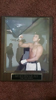 MUHAMMAD ALI AUTOGRAPH AUTO PHOTO BOXING FRAMED All Time Great