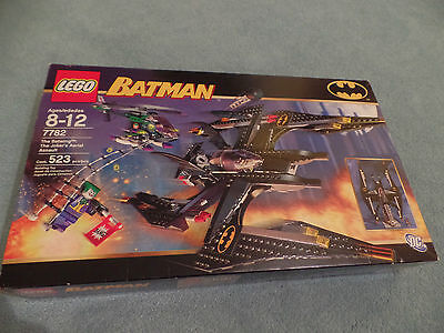 LEGO 7782 Batman The Batwing The Joker's Aerial Assault 100% completed