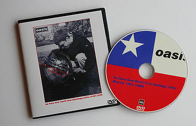 OASIS live in CHILE, MARCH 1998 -- BE HERE NOW TOUR -- LIVE DVD