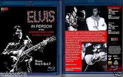 Elvis Presley - In Person At The International Hotel -Star - New Blu-Ray Sealed!
