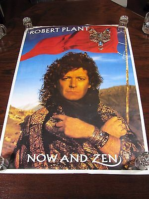 "Robert Plant Solo Project - Now and Zen Album Promotional Poster 34"" x 24"""