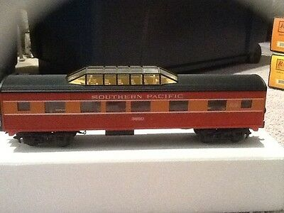 Rail King by MTH Southern Pacific-Daylight Streamlined Vista Dome Car #30-6118