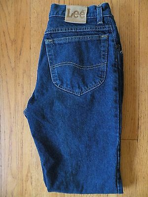 Vtg Lee Jeans USA Union Made 33 x 32 Straight Rider