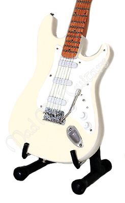 Miniature Guitar JIMI HENDRIX - CREAMY WOODSTOCK with stand