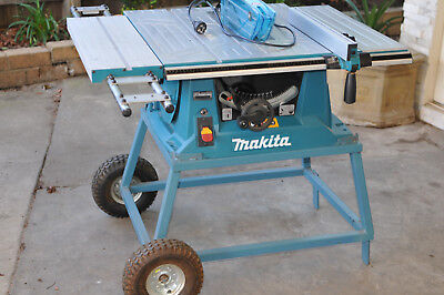 Makita LS1016 1510W 260mm Dual Bevel Slide Compound Mitre Saw / Good Condition