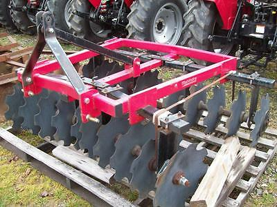 New ;  3-Point Hitch Disc ; Heavy Duty ; 6 1/2 feet wide