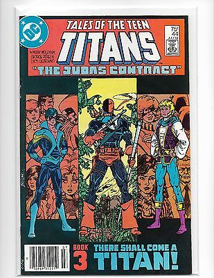 Tales Of The Teen Titans # 44 - Dc 1984 - 1St Dick Grayson Nightwing - Jericho
