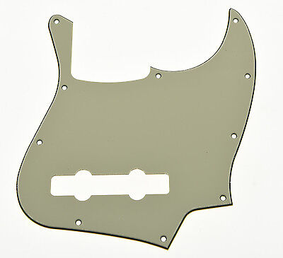 Aged White 5 String Jazz J Bass Pickguard Scratch Plate for American Fender