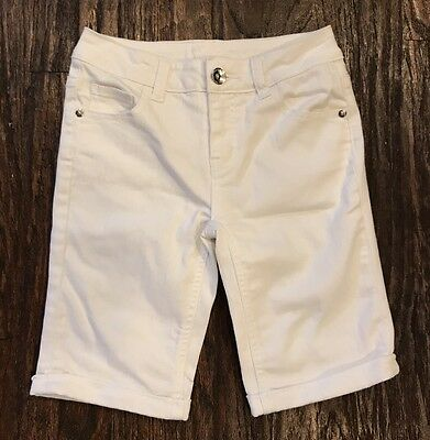 Justice White Short Girl Size 14S