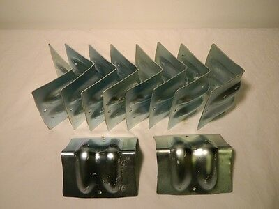 """(10pc) Steel Corner Protector For 5/16"""" 3/8"""" 1/2"""" Transport Chain Oversize Load"""