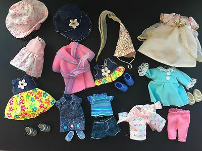 Vintage 90's Barbie / Kelly Mattel lot of Clothing and Accessories