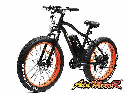 "Addmotor MOTAN M550 Electric Bicycle 26"" Fat Tire For Beach Snow Mountain E-Bike"