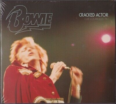 David Bowie Cracked Actor Live Los Angeles 74 AU 2CD DIGIPACK NEW/SEALED