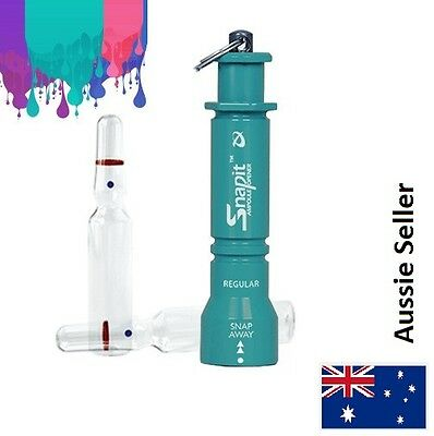 Snapit Lite - Teal (Ampoule Opener - Glass Vial Safety) NEW Cheapest in AUS!