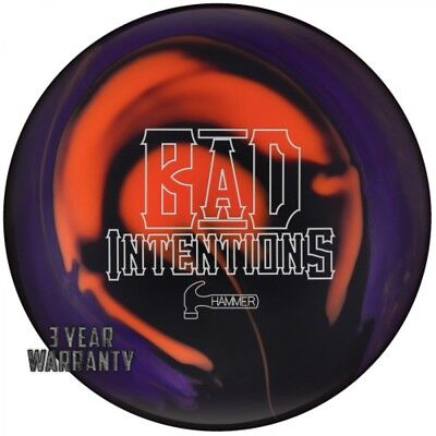 Hammer Bowling Ball Bad Intensions Hybrid High Performance Reactive