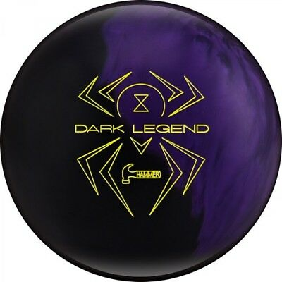 Hammer Black Widow Dark Legend Bowling Ball with Asymmetrical Core Reactive