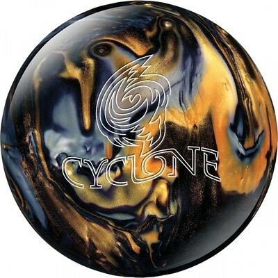 Ebonite Bowling Ball Reactive Cyclone Black/Gold/Silver