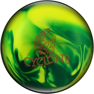Ebonite Bowling ball Reactive with Hook Cyclone Green/Yellow