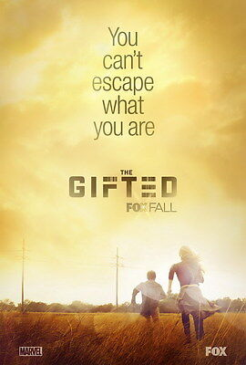 """001 THE GIFTED - Chris Evans USA TV Show 24""""x35"""" Poster"""