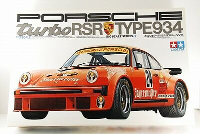 Tamiya 1/12 Porsche Turbo Rsr Type 934 Big Scale Series No.18 Very Rare!