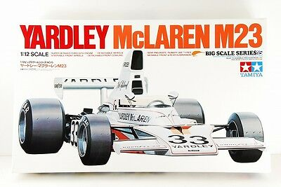 TAMIYA 1/12 YARDLEY McLAREN M23 BIG SCALE No,15 RARE!