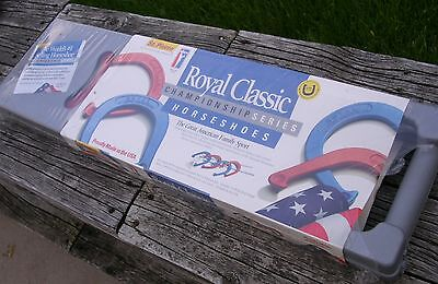New Sealed St. Pierre Royal Classic, Championship Series Horseshoe Set