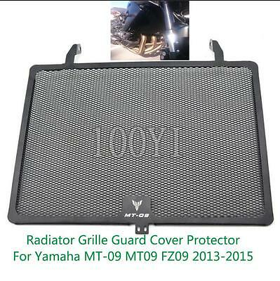 For Yamaha MT-09 MT 09 FZ09 2013-2015 Moto Radiator Grille Guard Cover Protector
