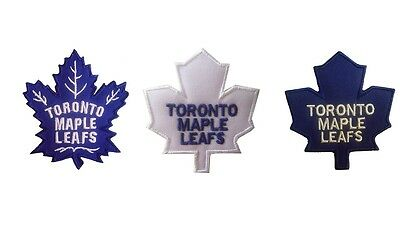 New NHL Toronto Maple Leafs embroidered iron on patch.