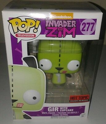 Funko Pop! Television Invader Zim #277 Gir with Cupcake
