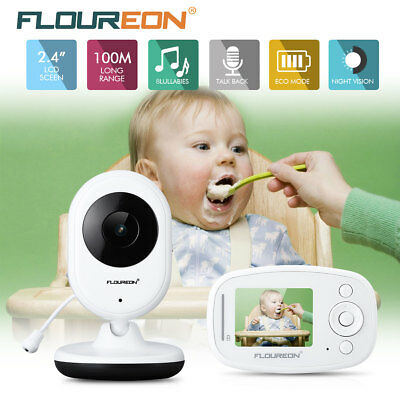 Wireless Baby Video Audio Monitor Funk Babyfone Babyviewer Nachtsicht Mit Kamera