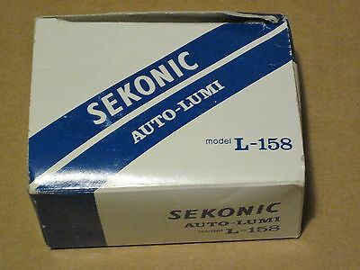 Sekonic L-158 Auto-Lumi Light Meter - Made in Japan