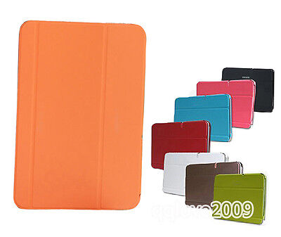 New PU Smart Case Stand Cover Fr Samsung Galaxy Note10.1 Tablet N8000 N8010