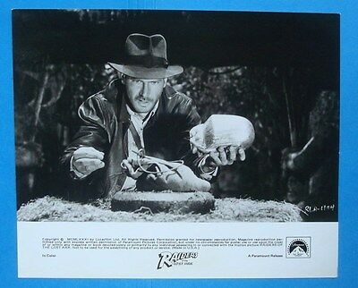 Orig 1981 **RAIDERS Of The LOST ARK** Press Kit 8x10 Photo/Still SPIELBERG FORD