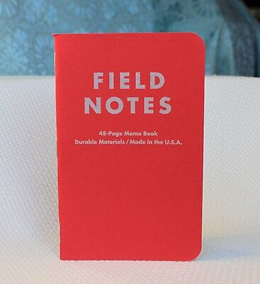 Field Notes Levi's Notes Along the Road Edition(Feb. 2010) Electric Red Notebook