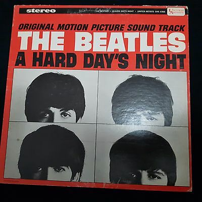 The Beatles- A Hard Days Night Soundtrack- 1st Canadian Stereo  Vinyl Lp