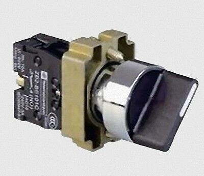 1pc 3 Position Maintained Selector Switch XB2-BD33
