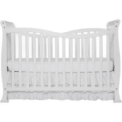 7-in-1 Convertible Infant Baby Crib Toddler Bed Nursery Furniture White