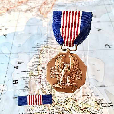 Wwii Us Army Soldiers Medal For Valor Slot Brooch Ribbon Bar Aac Aaf Issue