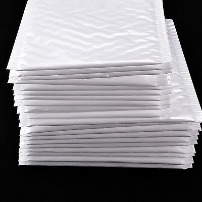 Practical 10Pcs Poly Bubble Mailers Padded Envelopes Shipping Bags Self Seal