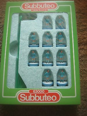Boxed Subbuteo Football 63000 Lightweight LW Team Man City  - Reference:449